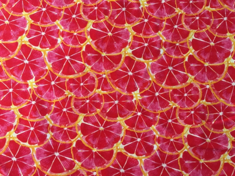 Citrus Jersey, Red by Liebelle