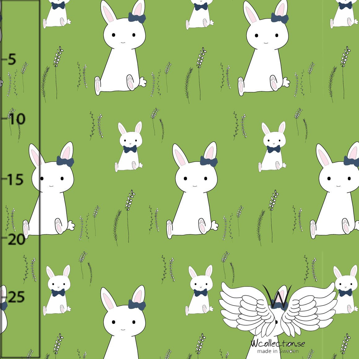 Bunny Jersey, Green by Wcollection