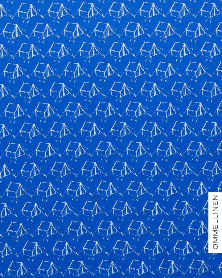 Camping Jersey, Blue by Ommellinen