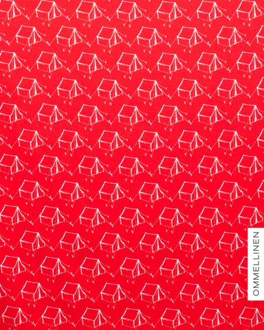 Camping Jersey, Red by Ommellinen