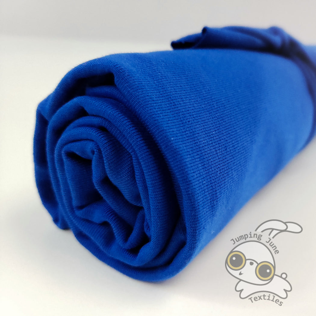 Organic Jersey, Royal Blue