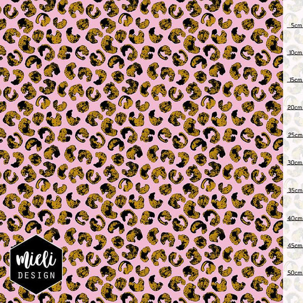 Dotty Organic Jersey, Pink by Mieli Design