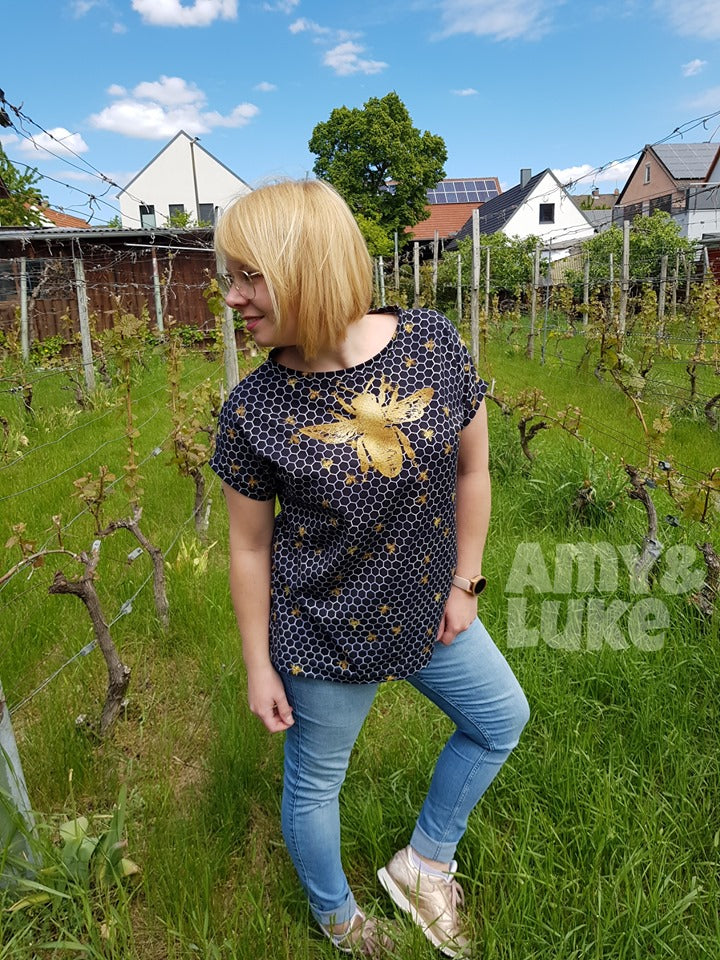 Bees Organic Jersey RAPPORT by Amy & Luke