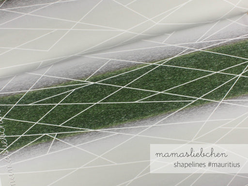 Gradient Shapelines Jersey, Mauritius  by mamasliebchen