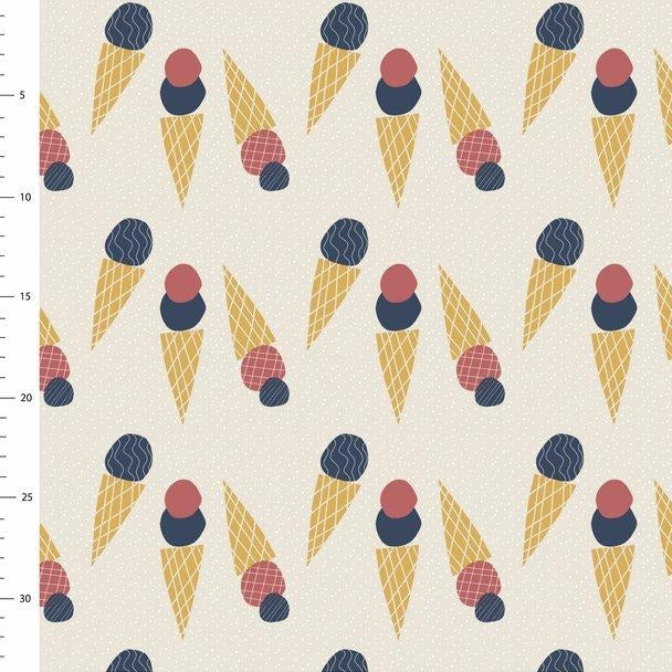 Ice Cream Dream Organic Jersey by Elveyckan Design