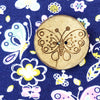 Butterfly Coconut Button