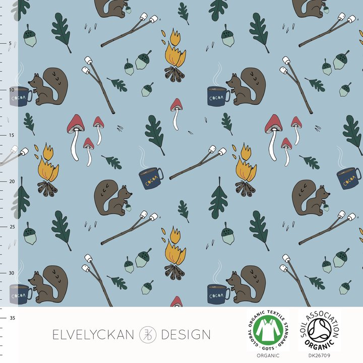 Lil Camper Organic Jersey by Elvelyckan Design