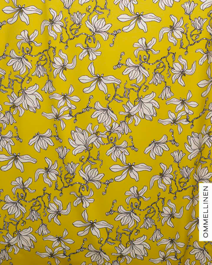 Magnolia Jersey, Yellow by Ommellinen