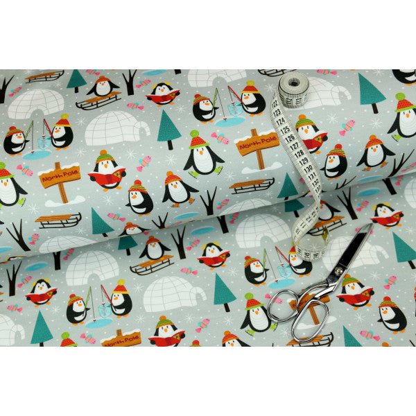 Penguin Holiday Organic Stretch French Terry