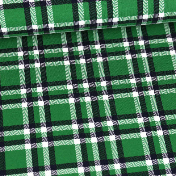 Plaid Jersey, Green