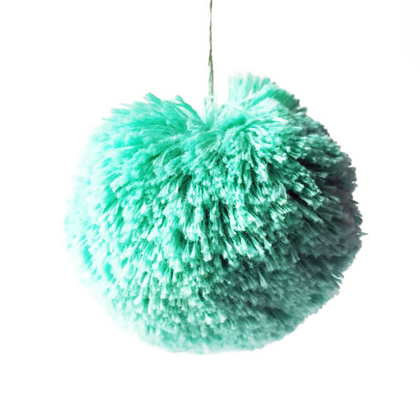 Pom Pom, Mint by Paapii Design