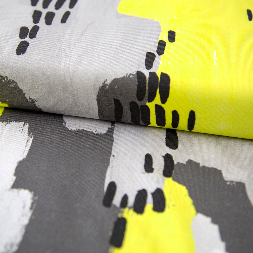 Sketchbook Organic Jersey, Lemon by Kapynen-Mereen