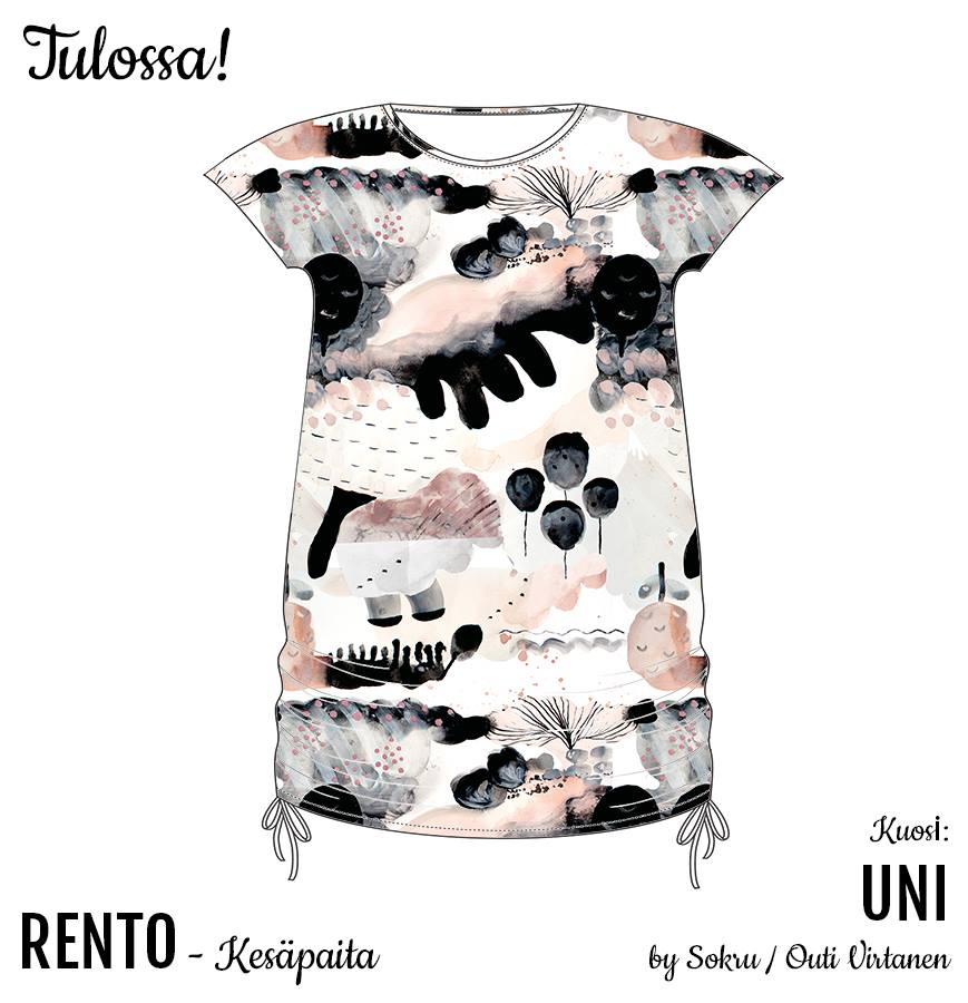 UNI Sleep Jersey, Nude by Ehta