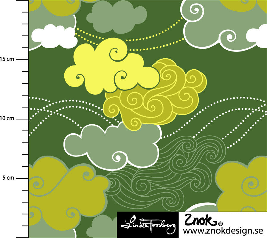 Storm Jersey, Green by Znok Design