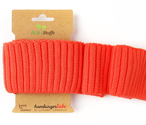 Cuff Me Cozy, Col. A78 Orange, by Hamburger Liebe-Albstoffe