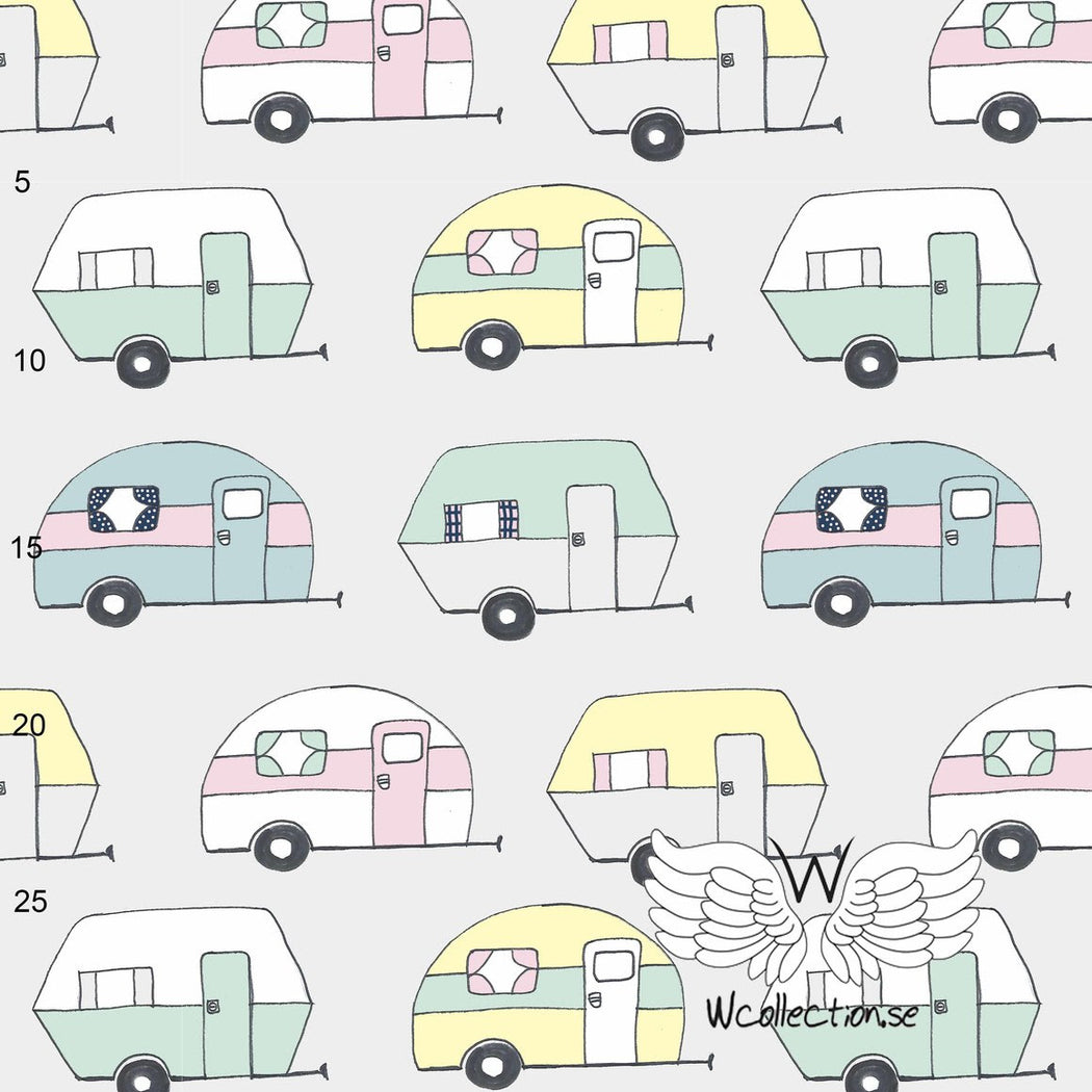 Vaycay Pastel Organic Jersey by Wcollection