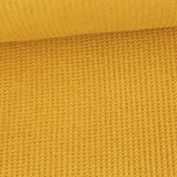 Viscose Sweater Knit, Mustard