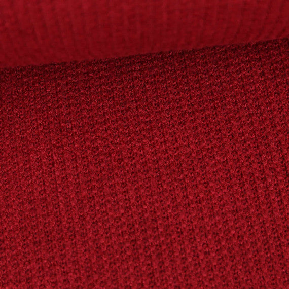 Viscose Sweater Knit, Burgandy