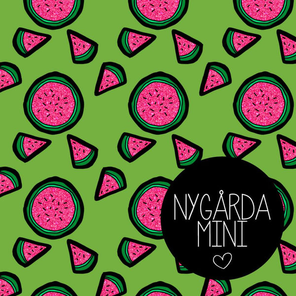 Watermelon Jersey by Nygarda Textiles