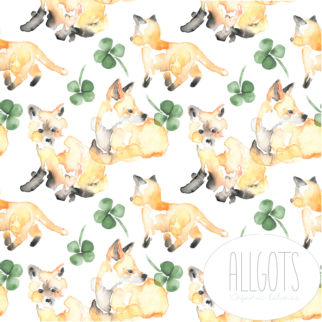 For Fox Sake Organic Jersey by Allgots