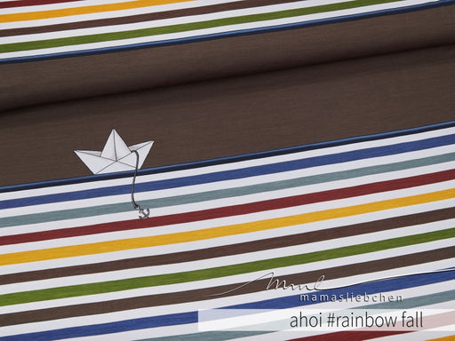 Ahoi Stripes Jersey RAPPORT, Rainbow Fall