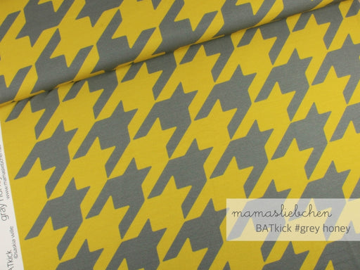 Batkick Jersey, Gray-Honey by Mamasliebchen