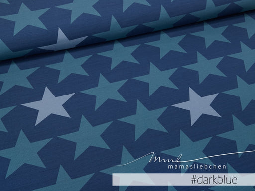 Big Stars Jersey, Dark Blue by Mamasliebchen
