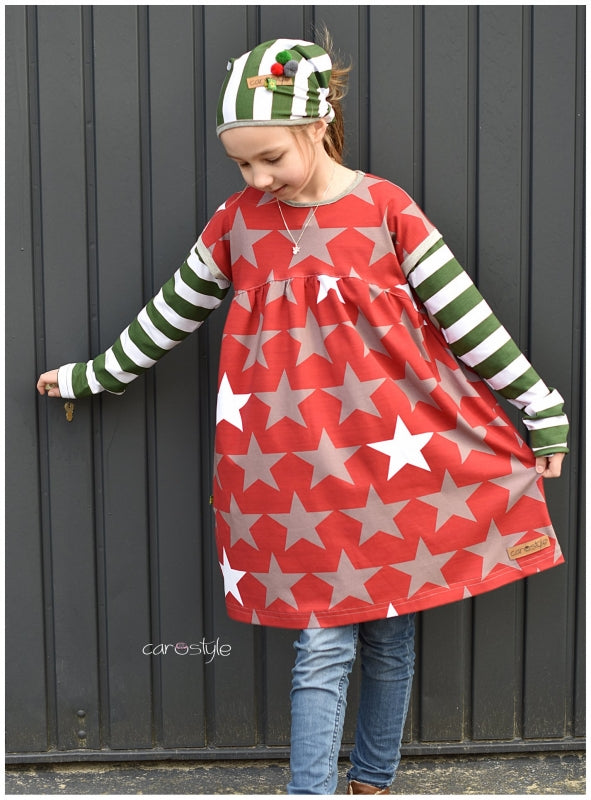 Big Stars Jersey, Red by Mamasliebchen