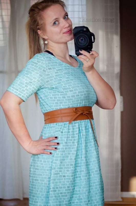 Bricks Jersey, Mint by Mamasliebchen