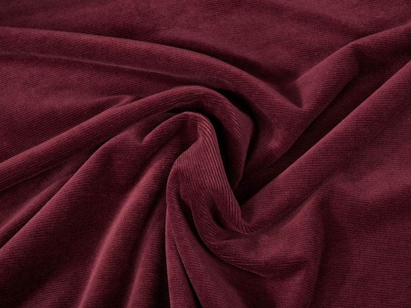 Cord Jersey, Bordeaux by Mamasliebchen