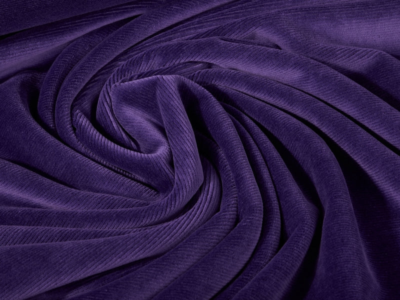 Cord Jersey, Purple by Mamasliebchen