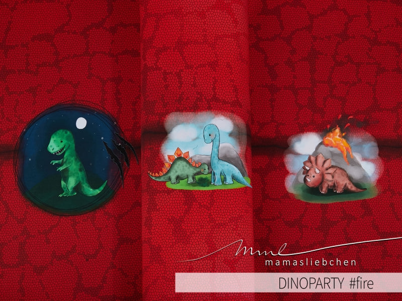Dino Party Jersey Rapport, Fire