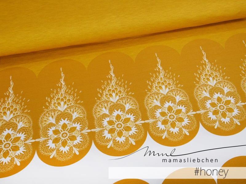 Mandala Jersey Rapport, Honey by Mamasliebchen