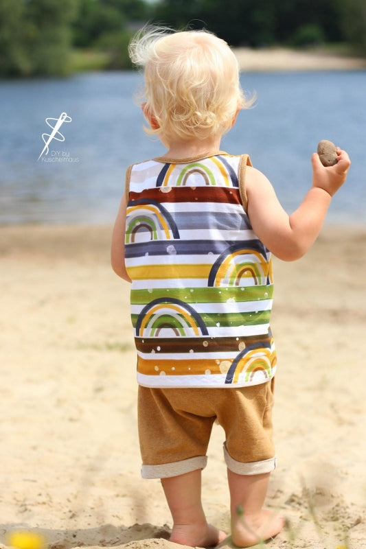Rainbow Love Jersey, Autumn by Mamasliebchen