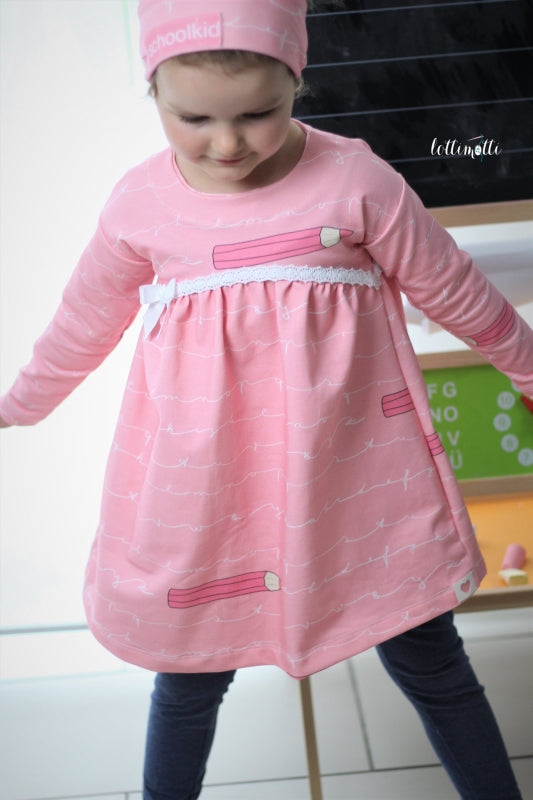 School Kid Jersey, Rose by Mamasliebchen