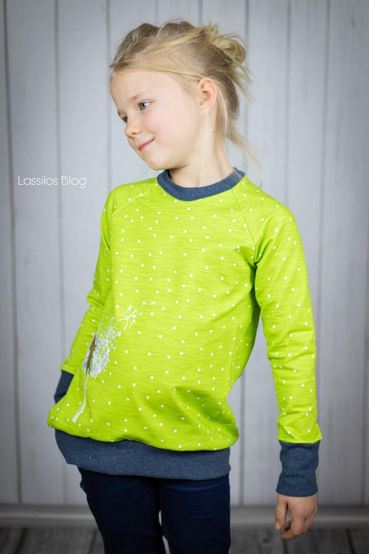 Sweetheart Dots Jersey, Apple