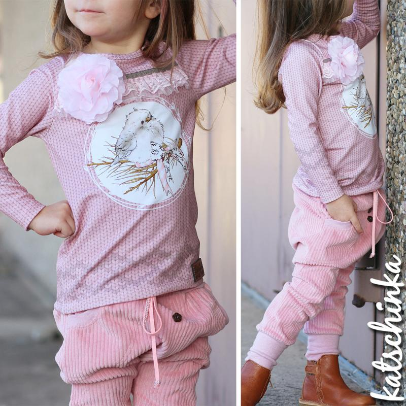 My Little Bird Organic Stretch French Terry RAPPORT
