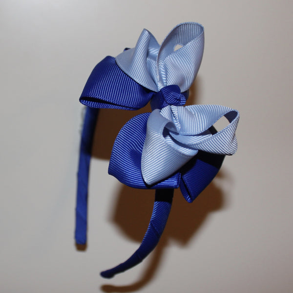 Double Ribbon Bow Headband - Capri