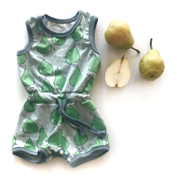 Pear Short Romper