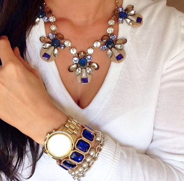 Royal Blue Crystal Bracelet
