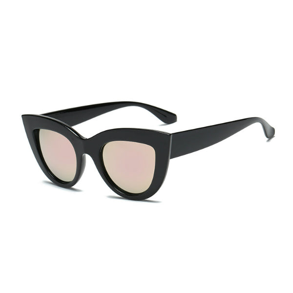 Amalfi Sunglasses - Rose Gold Mirror