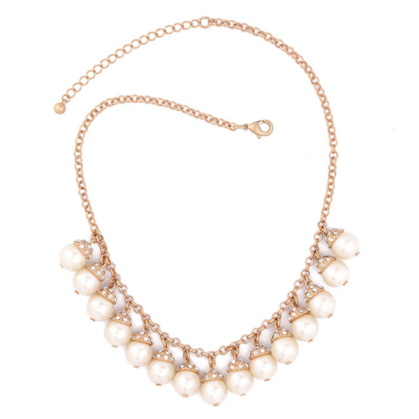 Ariana Pearl Statement Necklace
