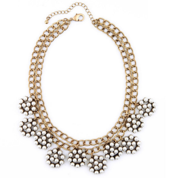 Arista Pearls Statement Necklace