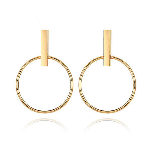 Bar and Hoop Earrings