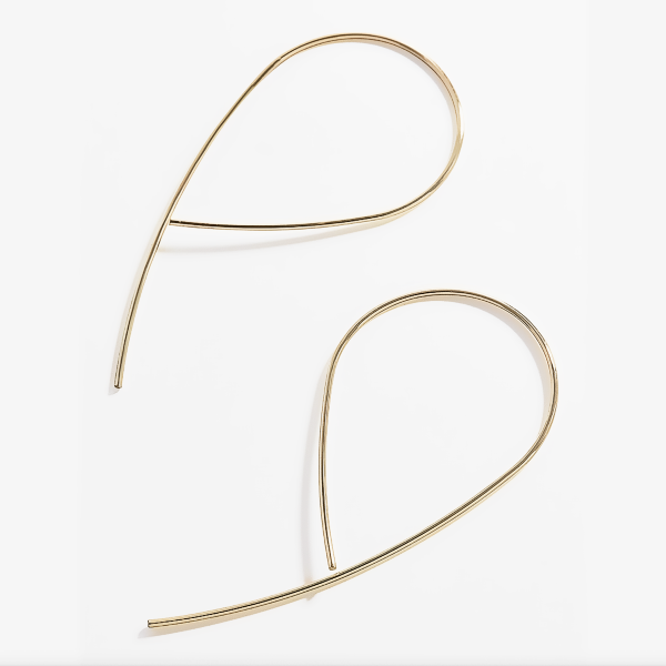 Calixta Wire Hoop Earrings