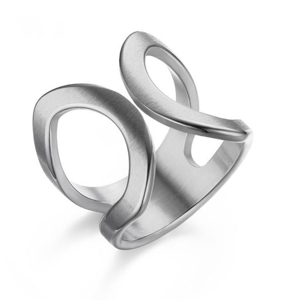 Calypso Ring - Silver - Stainless Steel