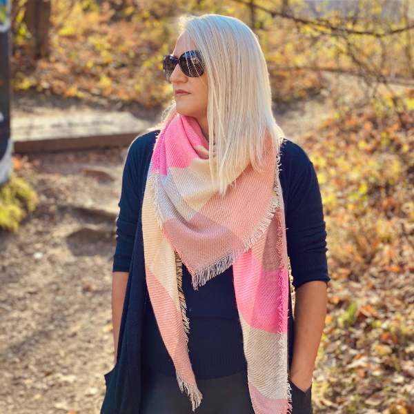 Candy Land Triangle Scarf