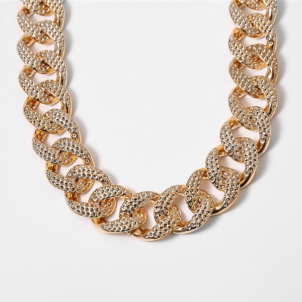 Chunky Link Statement Necklace