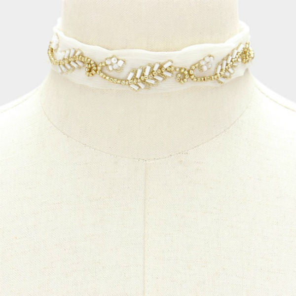 Dahlia Choker Necklace