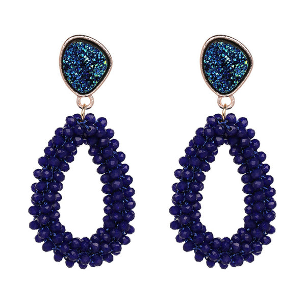 Desiree Druzy Earrings